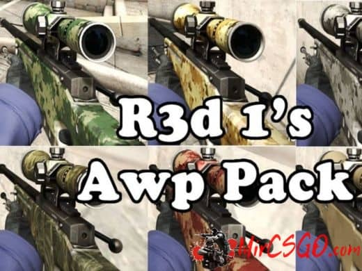 R3d 1's Awp Pack оружия кс го
