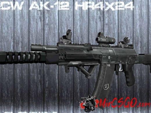 AK-12 HR4X24 Custom модель оружия кс 1.6
