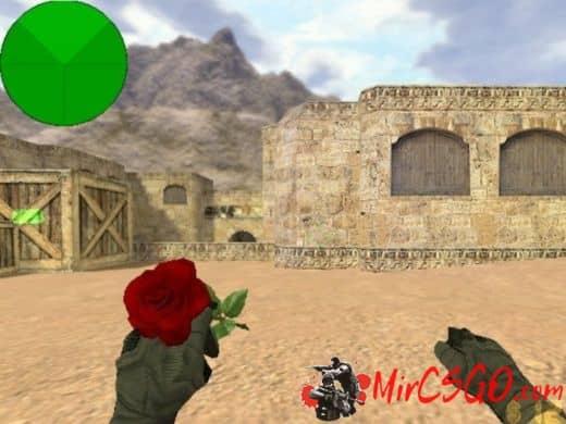 Rose модель оружия кс 1.6