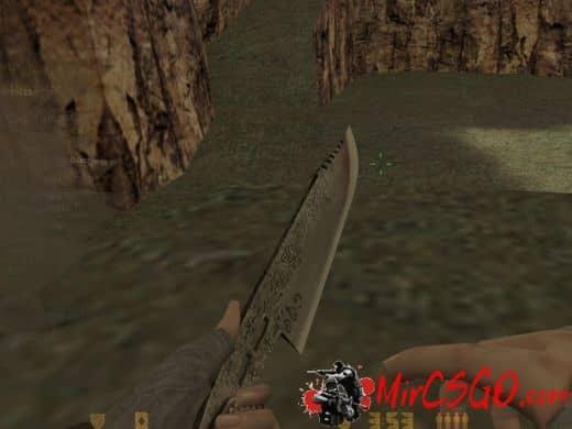 Default Single Nata Knife модель оружия кс 1.6