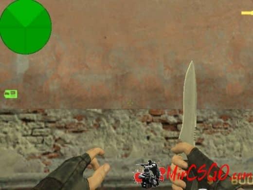 Knife Retexture модель оружия кс 1.6