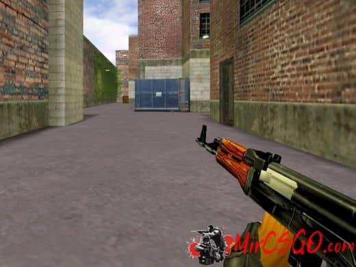 АК-47 модель оружия кс 1.6