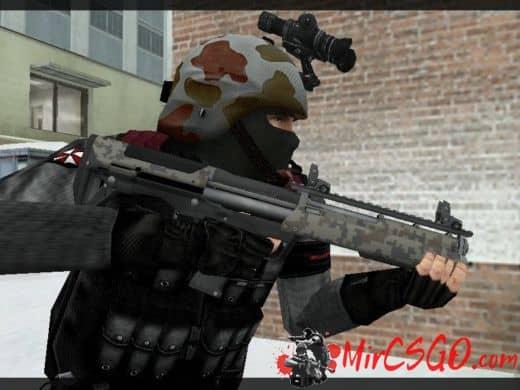 Kel-Tec KSG Battle-ready модель оружия кс 1.6