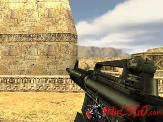 M4A1 ReV модель оружия кс 1.6