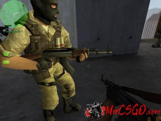 Scavenged AK47 модель оружия кс 1.6