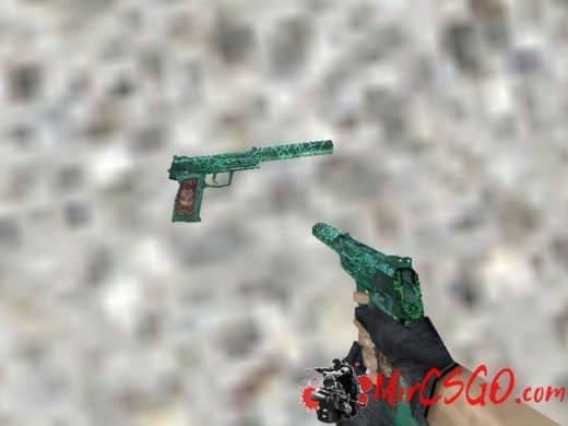 USP - Nightfire Dragon модель оружия кс 1.6