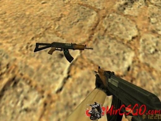 AKS-74U модель оружия кс 1.6