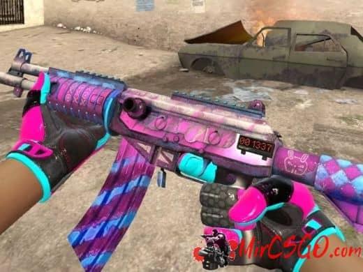 Фиолетовый инвентарь в кс го