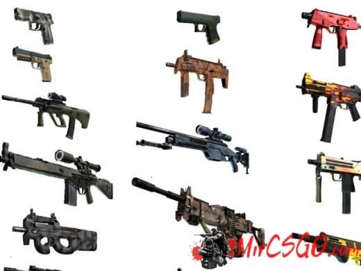 Как выбивать оружие в кс го