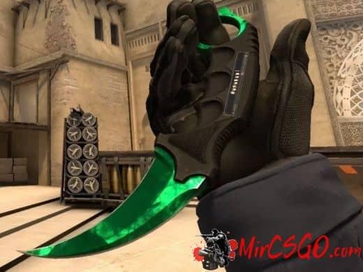 Зеленый инвентарь в кс го